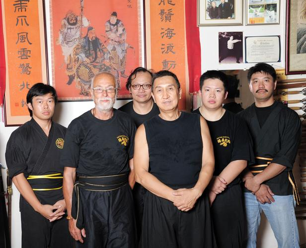 Na návštěvě ve škole u velmistra Tak Wah v New Yorku červenec 2011