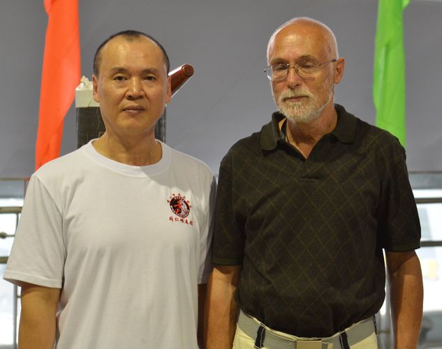 Sifu Lam Hoi Sam styl Had Jeřáb Wing Chun, Sifu Husek ve Fat Shanu 2011