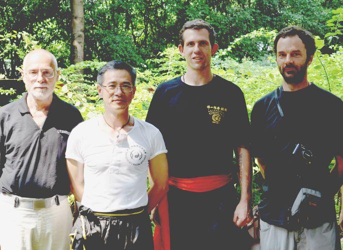 Sifu Husek, Sifu Wan Kei Ho z Hong Kongu, Lukáš Slavíček a Luděk Veverka 2011