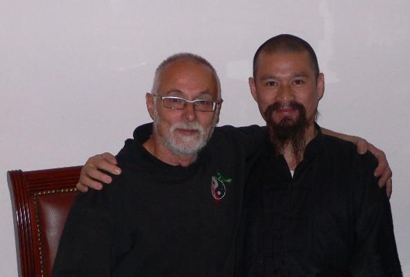 Se sifu Wong Nim Yi při jeho návštěvě Prahy v listopadu 2007