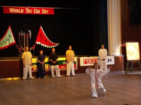 Z oslavy Mezinárodního dne Tai Chi v roce 2005